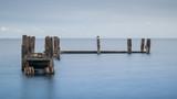 Langzeitbelichtung Anlegestelle Pier - 219669747