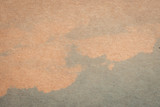 brown paper and blue water colour texture and background with space. - 219680566