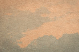 brown paper and blue water colour texture and background with space. - 219680577