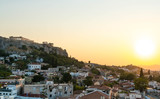 Golden Sunset in Athens - 219693105