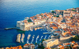 Aerial view of Dubrovnik, Croatia - 219705570