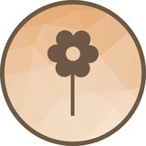 Planted Flower Icon