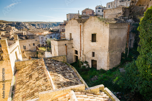 Fototapeta Old town of Matera