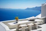 Beautiful santorini landscape - 219749917