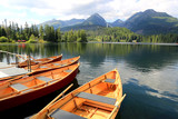 boats on lake - 219800981