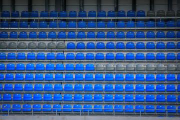 Stadiontribüne, Sportstadion in Dresden