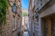 Leinwanddruck Bild - View of Dubrovnik old city in summer, Croatia