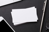 Blank business cards - 219830534