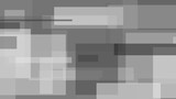 Grey, black and white abstract rectangles motion background - 219835728