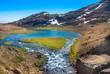 Leinwanddruck Bild - Tal in Tasiilaq, Ostgrönland