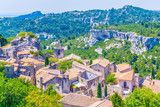 Medieval village of Les Baux des Provence in France
