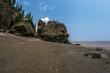Low tide at Hope Well Rocks New Brunswick Canada (aka Flowerpot Rocks)