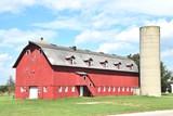 Big Barn and Silo - 219878788