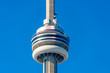 The CN Tower pod in Toronto, Canada