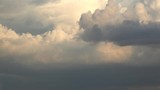 Floating rain clouds. Timelapse - 219923912