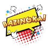 Bazinga! Comic Speech Bubble