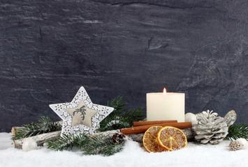 Weihnachtsdekoration © racamani