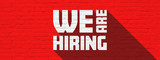 We are hiring - 219947399
