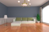 interior design room ideas 3d rendering - 219951598
