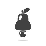 Cashew apple icon vector - 219967776