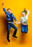 cheerful jumping kids - 220004562