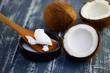 Leinwanddruck Bild - Kokos  , Kokosfett