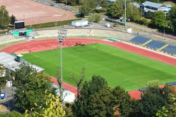 Koblenz-Oberwerth mit Stadion 08/2018