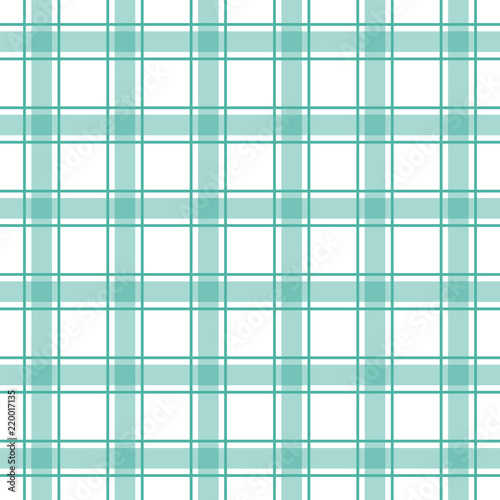 Seamless Plaid Check Pattern Blue And White Design For Wallpaper