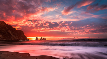 red sunset © Tatiana