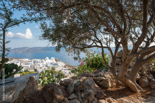 view over the island of Milos - 220025148