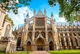 Westminster Abbey church in London, UK - 220033175