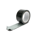 black duct tape isolated on white background - 220125178