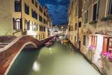 night cityscape in Venice - 220129301