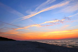 Zachód słońca nad Bałtykiem - 220136704