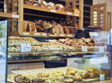 Bakery front in Europe - 220157362