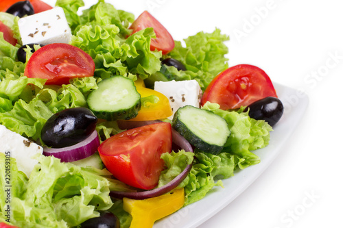 Fresh vegetable salad © valery121283