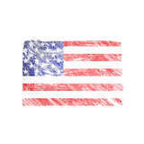 Grunge background USA Flag - 220194529