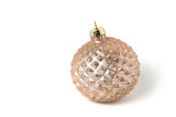 Christmas ball on a white background - 220194989