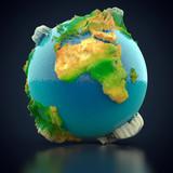 Erdball und Kontinente - 220201132