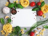 paper for recipes, vegetables and spices - 220201705