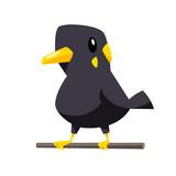 Cute myna bird vector - 220212785