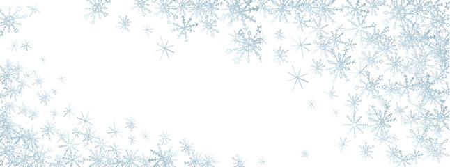 Winter doodles background