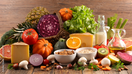 healthy food composition - 220258112