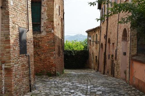 Fototapeta on the street of Italy