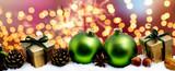Weihnachtskarte Hintergrund  - 220278789