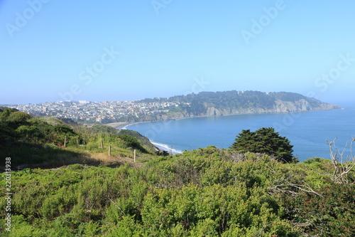 Pacific Coast Scenery from the Presidio in San Francisco