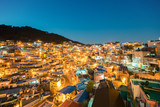 Gamcheon Culture Village at night in Busan, South Korea. - 220319929