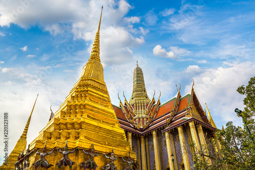 Leinwanddruck Bild Grand Palace in Bangkok