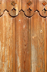 Photo of a wooden old retro texture