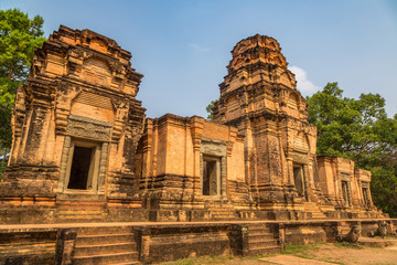 Prasat Kravan temple in Angkor Wat